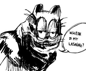 Cosmic horror Garfield