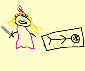 princess zelda finds a small boy laying down