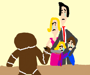 murderous gingerbread man