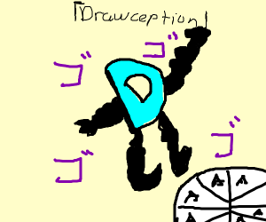 My stand is unbeatable! GO drawception
