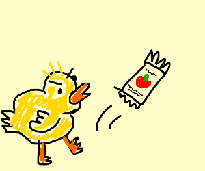 Ugly Duckling kicking Ketchup