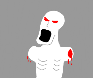SCP angry that his arms are cut off