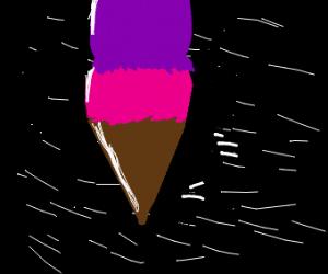 ice cream in space