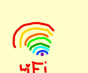 Rainbow Wi-Fi