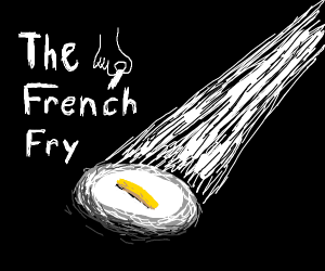 a single french fry