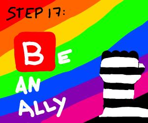 Step 16: Host a worldwide pride parade