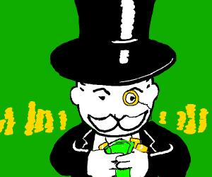 Rich Monopoly Man