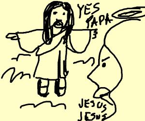 Johnny Johnny Yea Papa but it's Jesus