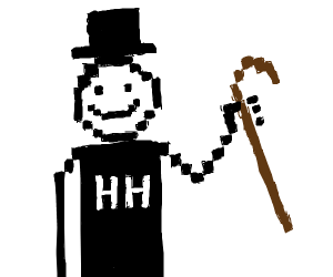 Pixel art Hurricane Harry