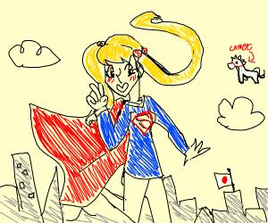 Anime super girl