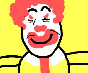 Crazy evil clown.
