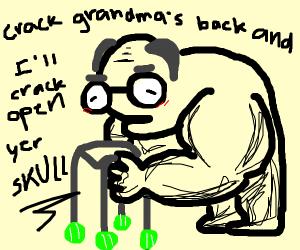 Old buff guy