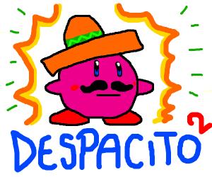 creepy mexican kirby despacito