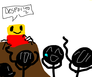 Despacito Spider Doing Orange Justice Drawception