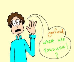 Jon loses Garfield