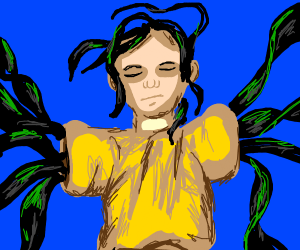 guy with seaweed arms