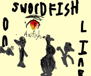 Swordfish Artwork