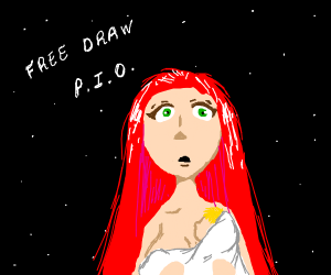free draw! Pass it on!