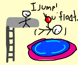 jump in you float