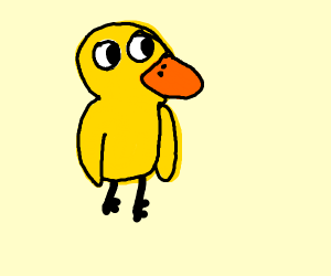 the duck from the duck song