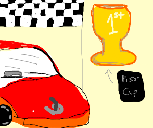 car wins The Piston Cup