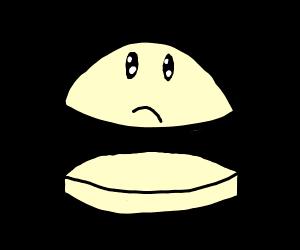 Sad Burger Bun