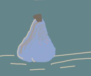 Lovely blue-grey pear