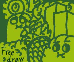 free draw (P.I.O.)