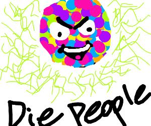 Toxic Discko ball