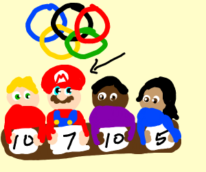 Mario is an Olympic Judge