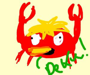 fire breathing crab