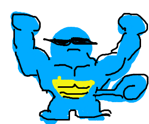 RIPPED squirtle