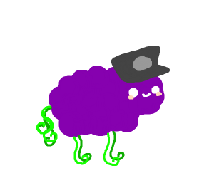 Police Officer Grape Sheep