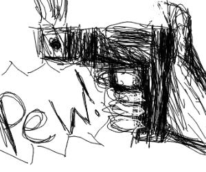 gun go pew