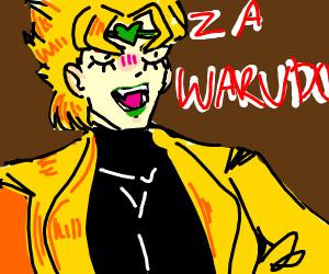 Dio Uses Za Warudo