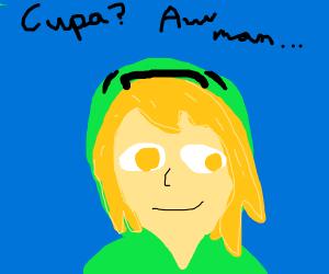 Link is secretly a creeper