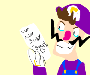 An Apologetic Smash Invitation to Waluigi