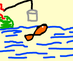 Fishing with a Can