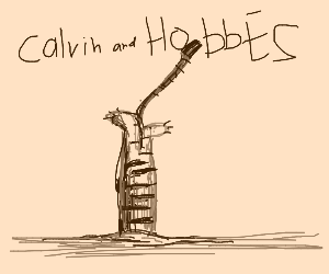 Hobbs gets stuck in a hole