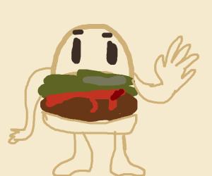 Alive burger