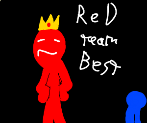 TEAM RED FOR THE WIN BRO