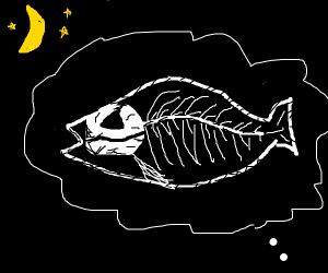 Nightmarish X-ray Fish