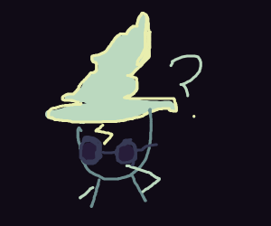 confused wizard