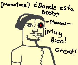 Dora the cyborg explorer