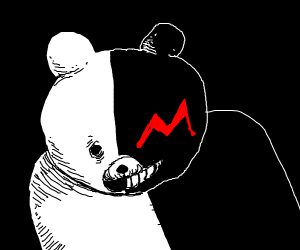 the bear from dangaronpa