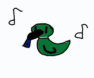 Kazoo and duck
