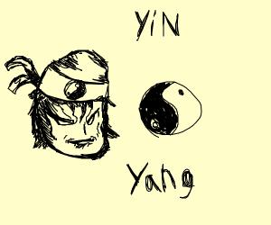 Yin Yang ninja