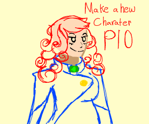 Make new charater PIO