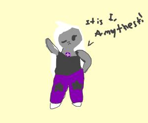it is i, amethyst, the crystal gem