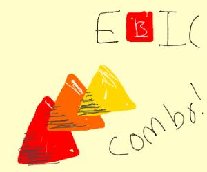 3x TRIANGLE EPIC COMBO